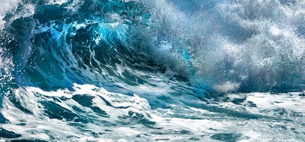 Atenção com o mar muito agitado no Sul e no Sudeste