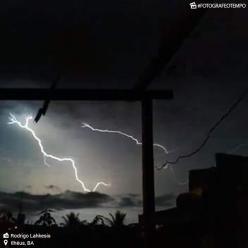 Chuva forte na Bahia neste domingo