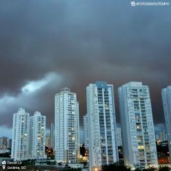 Goiânia e Brasília em alerta para temporais nesta sexta