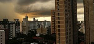 Risco de temporais em Minas Gerais