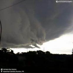 Semana termina com muita chuva no Paraná