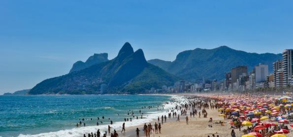 Sábado de 40° no Rio de Janeiro