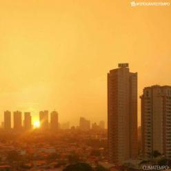 Segunda-feira quente e seca na maior parte do Brasil