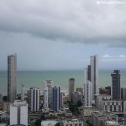 Chuva persiste entre João Pessoa e Maceió