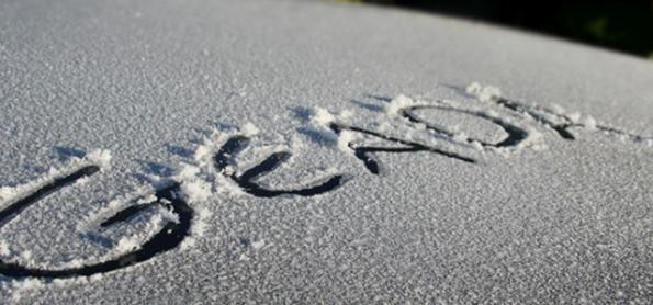 Frio aumentou no Sul e temperatura cai para 5°C negativos em SC