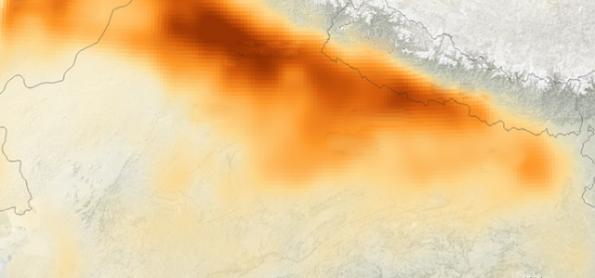 Nevoeiro e fumaça causam severo episódio de poluição na Índia