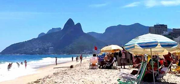 Março se despede do Rio com muito sol