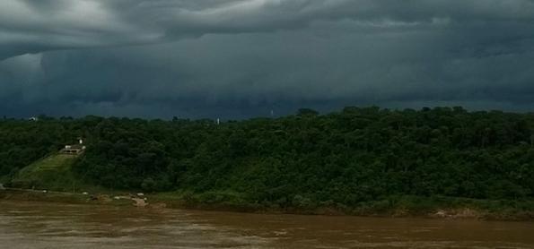 1ª quinzena de outubro com muita chuva no Sul