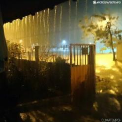 Chuva extremamente volumosa no Espírito Santo
