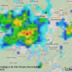 Semana com pouca chuva e calor na Região Sul