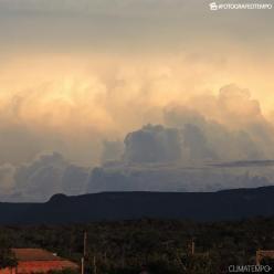 Muita chuva sobre o Pará e Tocantins