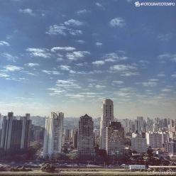 Sexta-feira típica de verão em São Paulo
