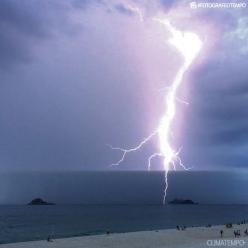 Dicas para perceber a chegada do temporal na praia