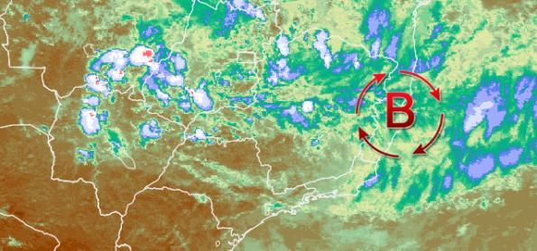 Ciclone subtropical pode se formar na costa entre ES e BA