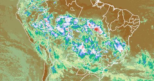 Com Alta da Bolívia, mas sem ZCAS
