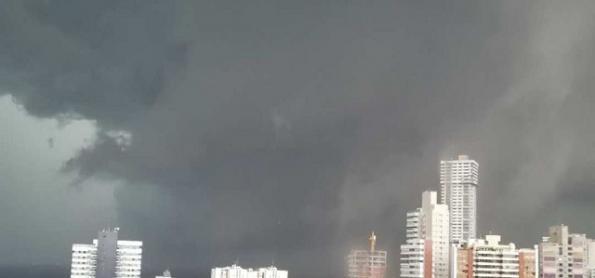 Recorde de calor e temporal em Salvador