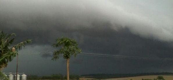 Risco de vento e de chuva forte no Sul nos próximos dias
