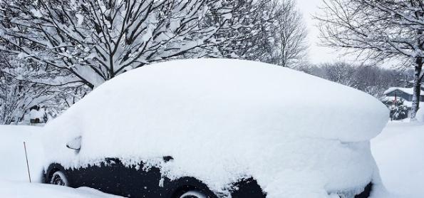 Neve bate recorde histórico na Pensilvânia (EUA)