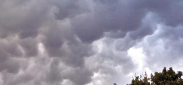 Região Sul volta a ter pancadas de chuva