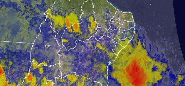 Chuva forte no sul do PI e do MA