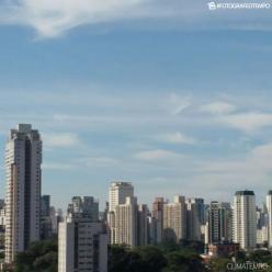 Calor aumenta em São Paulo nesta terça