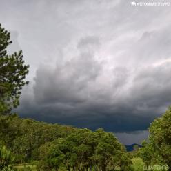 Chuva forte entre SP, MG e RJ