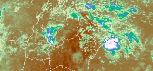 Maceió registra maior chuva em 24h para janeiro desde 2012