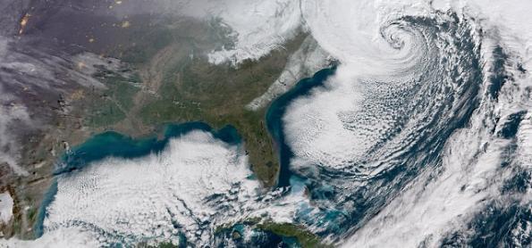Entenda o 'ciclone bomba' que passou pela costa leste dos EUA
