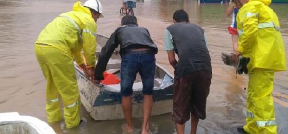 Litoral de SC ainda tem risco de chuva