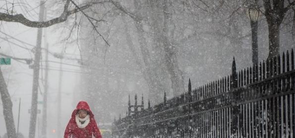 A histórica nevasca que parou a costa leste dos Estados Unidos