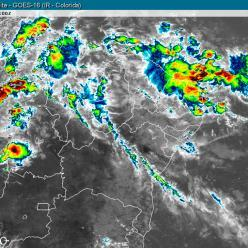Semana com risco de chuva forte na Região Sudeste