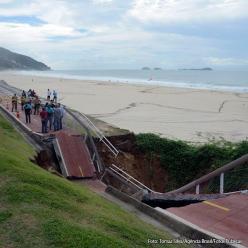 Chuva perde força no Rio de Janeiro