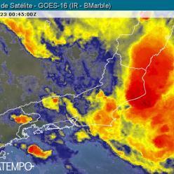 Áreas de instabilidade persistem sobre o RJ