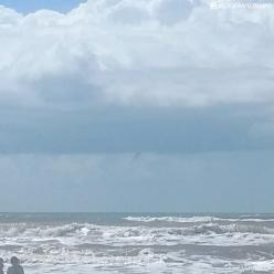 Passagem de ciclone deixa mar agitado no Sul do BR