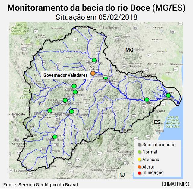 Bacia do Rio Doce 5-2-18