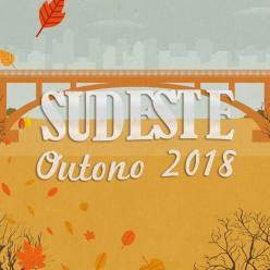 Sudeste do Brasil - tendência para o outono 2018