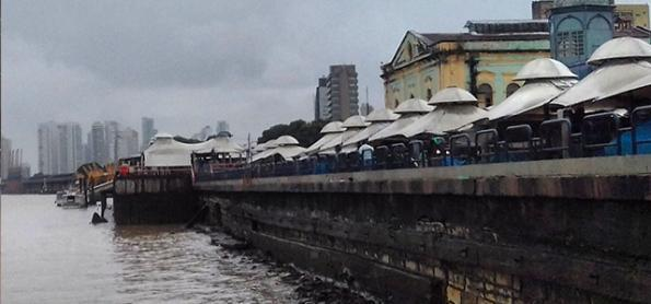 Pará tem quase 150 mm de chuva em 24 horas