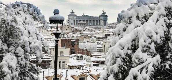 O que há de mudanças climáticas na onda de frio na Europa?