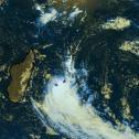 Raro ciclone tropical provoca 415 mm em 12h na ilha Reunião