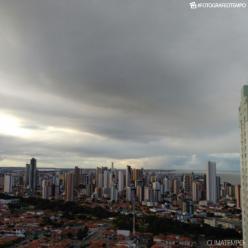 Chuva forte em João Pessoa e na Grande Recife
