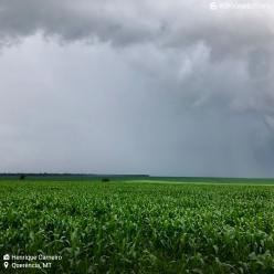 VCAN ajuda a aumentar as condições de chuva no Centro-Oeste