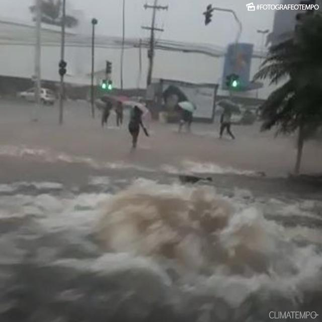 Chuva em São Luís (MA) - Foto: Matheus/Reprodução Climatempo