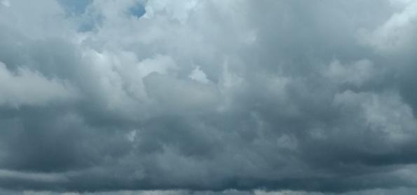 Grandes volumes de chuva sobre o Nordeste
