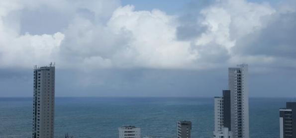 Fim de semana será de tempo instável no leste do Nordeste