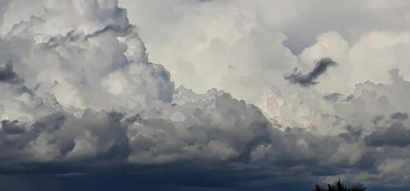Muita chuva no norte de Mato Grosso e em Rondônia