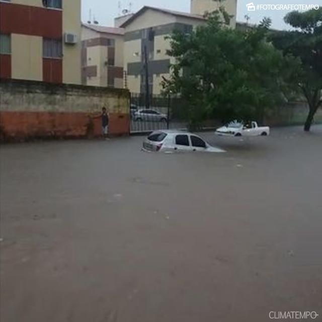 Chuva em São Luís (MA) - Foto: Alisson/Reprodução Climatempo