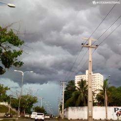 Muita chuva em São Luís e em Fortaleza