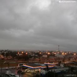 Frente fria aumenta a chuva no litoral da Bahia