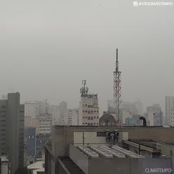 Umidade aumentou e São Paulo teve nevoeiro nesta quarta-feira