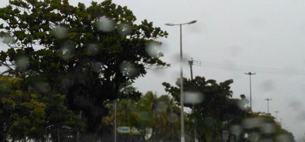 Litoral sul da Bahia registra 100 mm de chuva